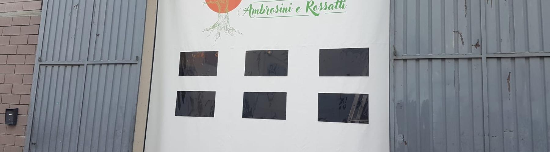Fornitura e posa nuova porta rapida presso Ambrosini e Rossatti srl: Immagine Header